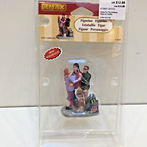 """Lemax HOME FOR THE HOLIDAYS Holiday Village Figure 3"""" Tall 2017"""