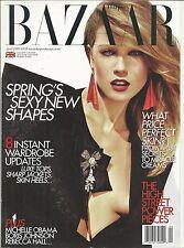 Harpers Bazaar magazine Spring fashion Michelle Obama Boris Johnson Rebecaa Hall