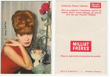 DANY SAVAL    petite carte éditée par MILLIAT FRERES  Collection Photos Vedettes