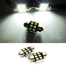2x Genuine SAMSUNG 6 LED DE3175 DE3022 Dome Map Light White High Power 31mm Bulb