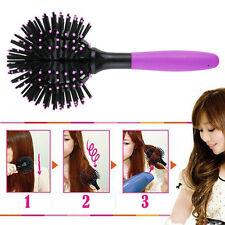3D Hair Brush Ball Style Blow Drying Detangling Salon Heat Resistant Comb New UL