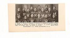 Manhasset A.A. Port Richmond New York 1907 Football Team Picture