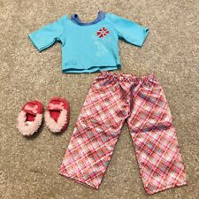 Retired American Girl Petals And Plaid Pajamas