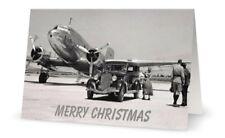 CHRISTMAS CARD - KLM ROYAL DUTCH AIRLINES DOUGLAS DC3 DAKOTA - NEW EDITION