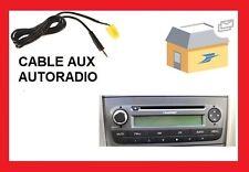 Cable auxiliaire lecteur MP3 autoradio Fiat Grande Punto Evo 6 pin