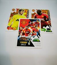 10 x NEW Manchester United 2013 Random Trading Cards Panini Adrenalyn XL Man UTD