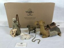Willow Tree nativity figures Shepherd and Stable Animals, #26105, Hot