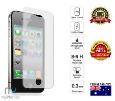 9H Temper Glass For Apple iphone 4 4S Clear Screen Protector Scratch Resistant