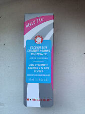 First Aid Beauty Hello Fab Coconut Skin Smoothie Priming Moisturizer Primer 50ml