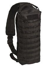 Mil-Tec Sling Bag Tanker 15 L Armee-rucksack Outdoor schwarz