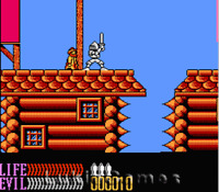 Wizards & Warriors III 3 - Fun Rare NES Nintendo Game