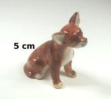 chien en céramique,collection,objet de  vitrine, hond, dog   G-chiens-V