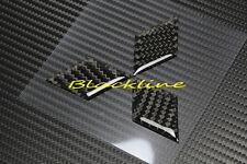 Carbon Fiber Hood OR Trunk Emblem Decal For Mitsubishi Lancer Galant Outlander