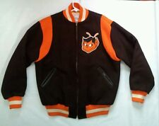 MITCHELL&NESS AUTHENTIC COOPERSTOWN COLLECTION ST. LOUIS BROWNS JACKET SIZE L