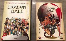 Manga Dragon Ball «Le grand livre 1996208 pages» + «Dictionnaire 310pgs 1999