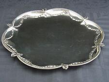 schönes altes Tablett London 1774 George Smith V Silber