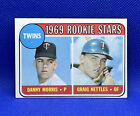 1969 TOPPS #99 TWINS ROOKIE STARS GRAIG NETTLES / MORRIS CARD. rookie card picture