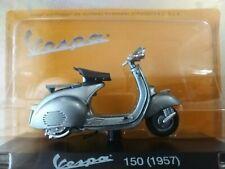 Modellino Grigio Moto Vespa 150 (1957) NUOVO SIGILLATO.