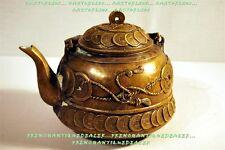 VERSEUSE THEIERE bronze CHINE JETONS CHINOIS signature CACHET