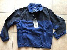 Nike Golf Storm-Fit-20 Convertible Half-Zip Jacket-Blue/Black-Large-N wt