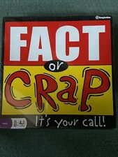 """NEW SEALED """"Fact Or Crap"""" It's Your Call Board Game"""