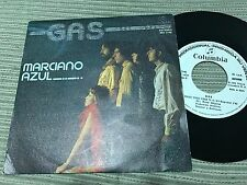 "GAS - MARCIANO AZUL 7"" SINGLE COLUMBIA 82 PROMOCIONAL"