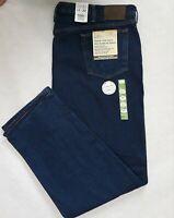 Cabela's Men's Flannel Lined Denim Jeans Roughneck 100% Cotton 48 x 32 Brand New