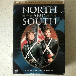 NORTH and SOUTH Book 1,2&3 DVD The Complete  Collection Box Set - Patrick Swayze