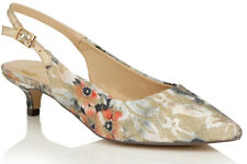 Ladies Slingback Shoe Lotus Cass Beige Multi UK Size 4