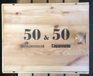 1 X GENUINE WOODEN WINE BOX & SLIDING LID.HAMPER/STORAGE/CARD BOX. 34x27x18