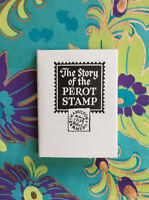 Story of the Perot Stamp Don Brady Clearview Press Signed HC Miniature Book, DJ
