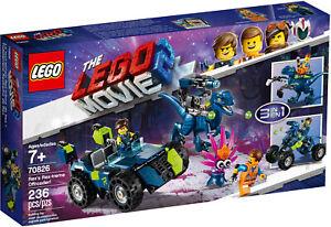 LEGO 70826 The Lego Movie 2 Rex's Rex-treme Offroader! Jurassic Dino - New
