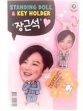 Jang Keun Suk KeunSuk Photo Standing Doll Key Holder Set KPOP Korea Actor Movie