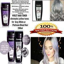 Delia Cameleo Colour Hair Rinse Silver and Violet Hair Toner Reduces Yellow Tone