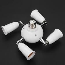 Adjustable E27 Splitter 5/7 Heads Lamp Base LED Light Bulb Adapter Holder Socket