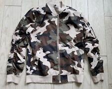 Elwood Full Zip Jacket size L large - camo/camouflage/beige/green/black/brown