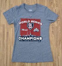 St. Louis Cardinals 2011 World Series Champions Shirt ~ Ladies' Small ~ Majestic