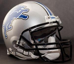 CALVIN JOHNSON Edition DETROIT LIONS Riddell AUTHENTIC Football Helmet NFL
