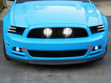 Non-Halo Fog Lamps Halo Driving Lights Kit for 2012-2014 Ford Mustang Boss 302
