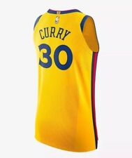 39c440e00 Nike Men s Steph Curry Golden State Warriors City Edition Basketball Jersey  Sz58