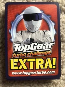 Top Gear Turbo Challenge Extra Super Rare Pick 5 Cards