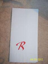 Riviera Casino Hotel Vintage Riviera Logo Napkin Las Vegas Nevada