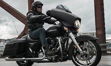 "Harley Davidson 6"" dark smoked windshield Street glide/Electra glide 2014-2017"