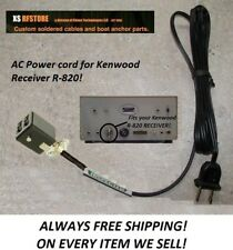 Kenwood R 820 Power cable assembly AC 6' CORD