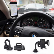 Universal Car Rotating Windshield Suction Window Mount GPS Mobile Phone Holder