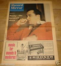 RECORD MIRROR 19 MARCH 1966 PJ PROBY SMALL FACES DORIS TROY BYRDS JAMES BROWN