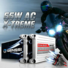 GENSSI HID Headlight Conversion Kit 8K w/Adapters for Yamaha YZF R1 R6 2009-2016
