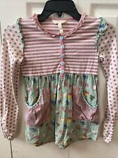 Adorable Girls Size 10 Matilda Jane Long Sleeve Dress