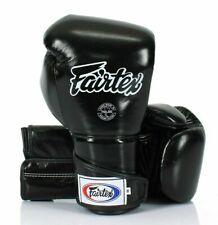 FAIRTEX - GANTS DE BOXE EN CUIR FAIT MAIN NOIR/BLANC TAILLE 10OZ BGV6