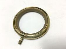 Anello in ottone lucido interno antigraffio mm 60 x tubo 30/35 brico tenda casa